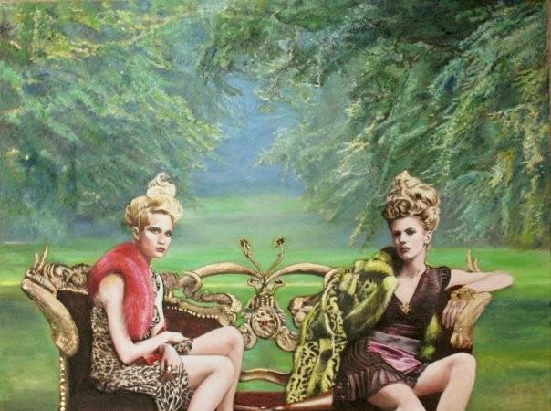 Rencontre avec Floria Otis Rosimiro, la peintre haute couture !