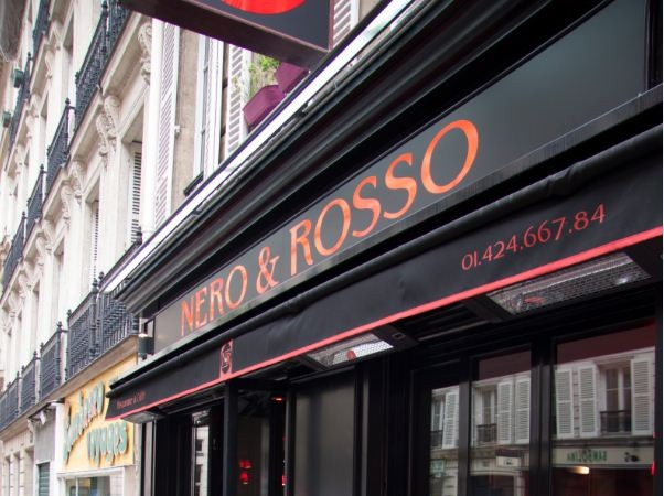 Nero e Rosso, le restaurant italien qui va vous en faire voir de toutes les couleurs…