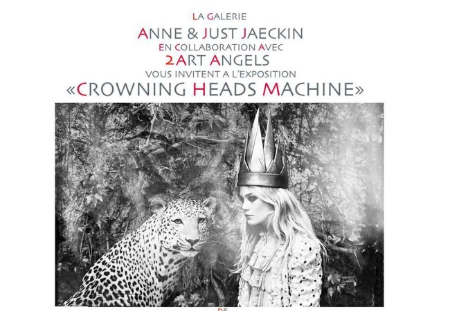 Exposition Crowning Heads Machine à La Galerie Anne & Just Jaeckin