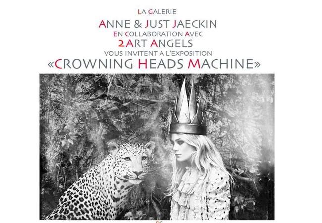 Exposition Crowning Heads Machine à La Galerie Anne & Just Jaeckin