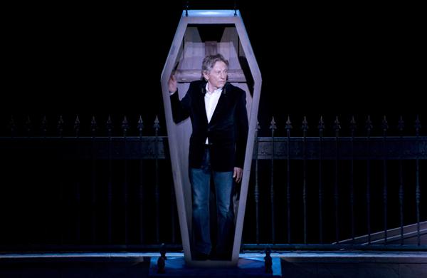 Paris Frivole était à la conférence de presse de Roman Polanski au Théâtre du Mogador