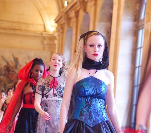 """Soirée divine à la Maison d'Education de la Légion d'Honneur, défilé couture de Zélia pour l'association """"Cé ke du Bonheur"""""""