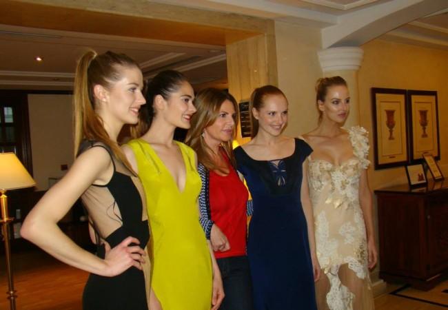 Paris Frivole était au défilé Anne's Fashion Store à l'Hôtel Mélia Royal Alma