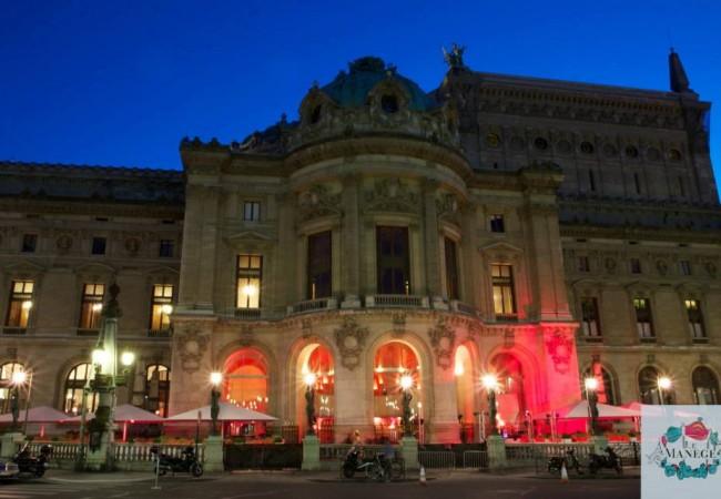 Clubbing – soirée branchée à Paris – Le Manège – Opéra Garnier – La Boomette – belle terrasse à Paris – Paris Frivole – Sarah Frivole