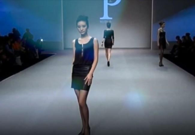 Pascal Piveteau – couture – Fashion – cuir stretch – élégance à la française – Paris Frivole