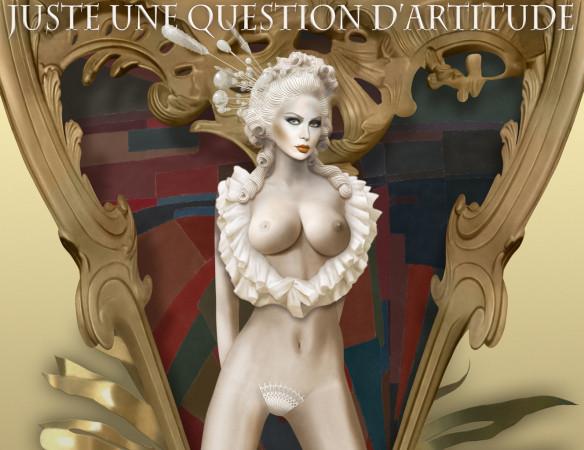 Myris Création – Galerie Artitude – Village Suisse – Vernissage – les tentatrices – les parisiennes – femmes voluptueuses – Paris Frivole