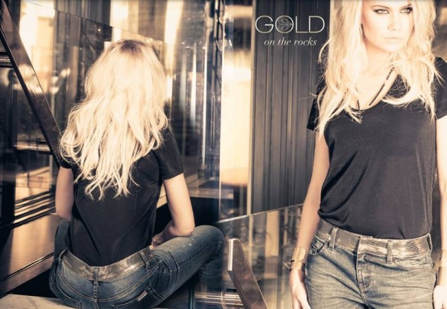 Gold on the rocks – jeans – tendance 2015 – mode parisienne – look rock chic – Paris Frivole