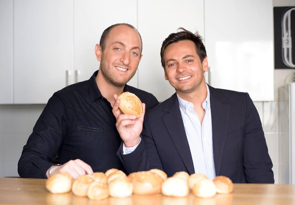 Sacha et jean-Philippe - burger & fils - paris frivole