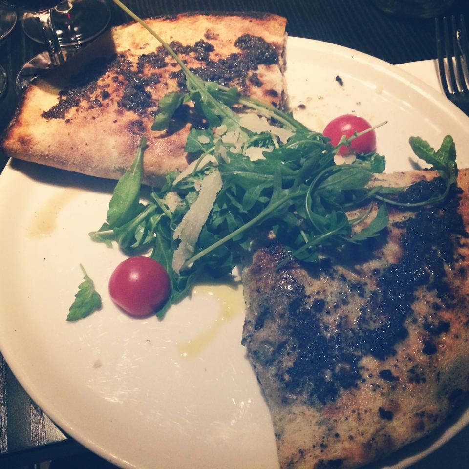 paris frivole - restaurant italien - gemini - tartuffo