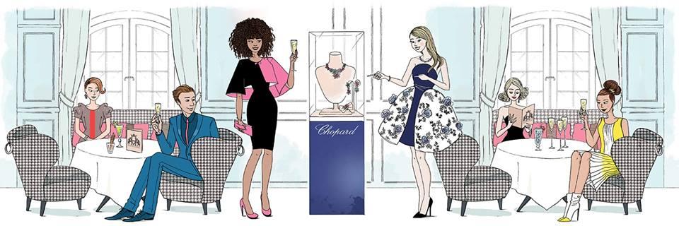 Bar éphémère - Chopart - soirée privée - hotel de vendome - fashion week
