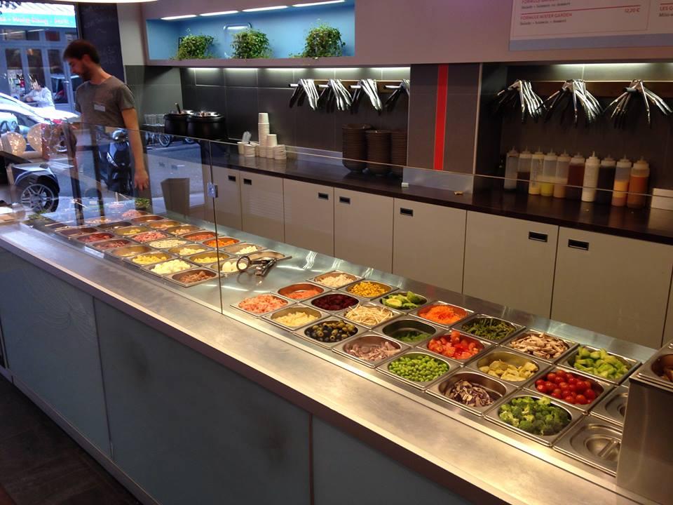 Mister garden - salad bar