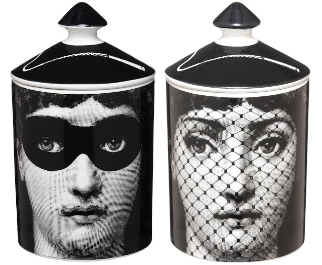 Fornasetti Profumi - Scented Candle - Burlesque - Both Sides - LEclaireur Exclusive