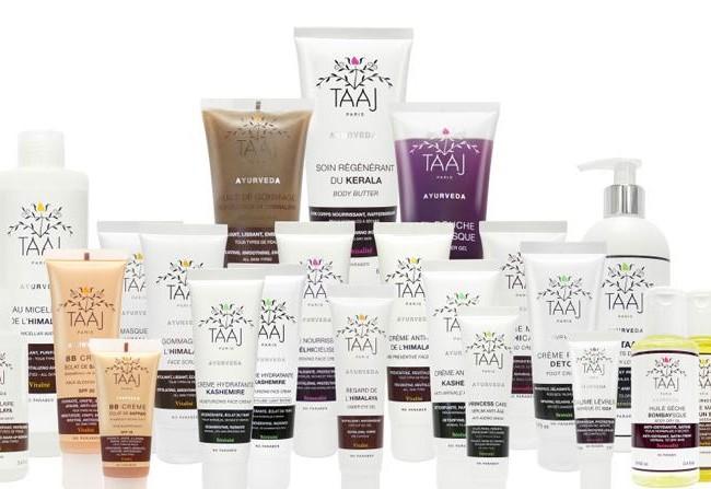 Taaj – cosmétiques ayurvédiques