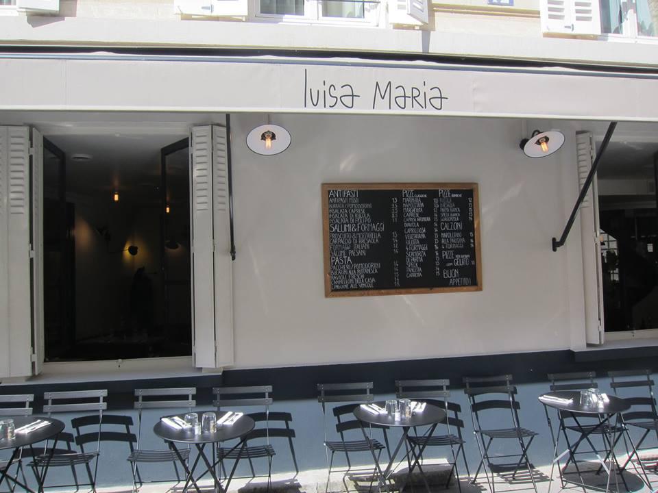 Terrasse Luisa Maria resto pizza