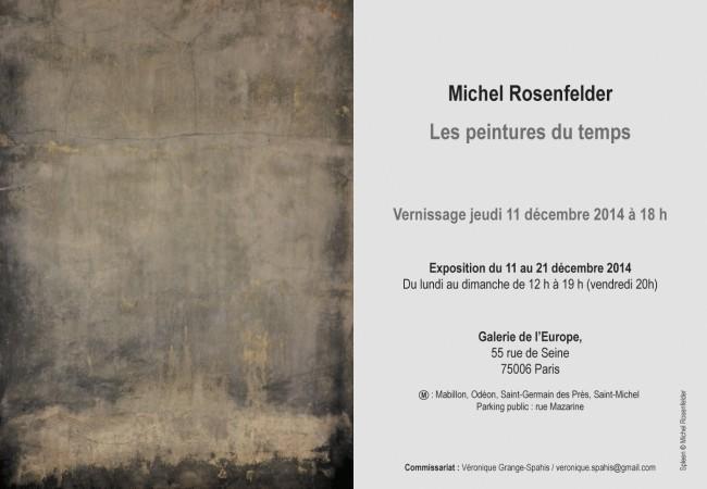 Michel Rosenfelder – Vernissage exposition – Galerie de l'Europe