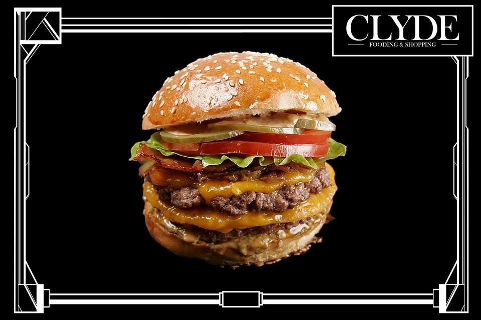 clyde burger