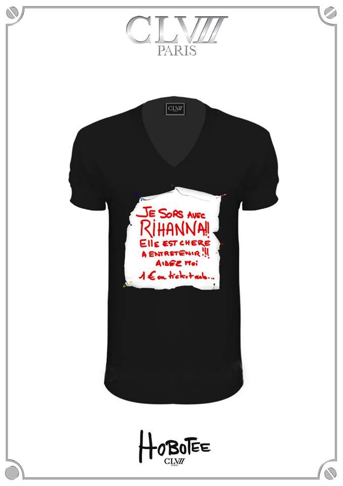 Rihanna tee shirt fun