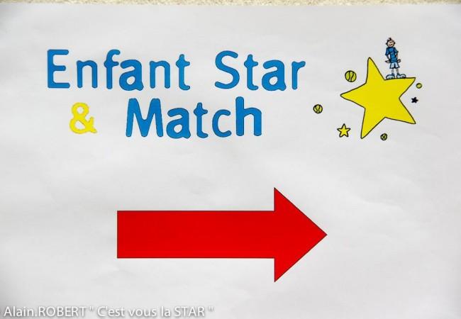 Enfant Star et Match – tournois de tennis – enfance