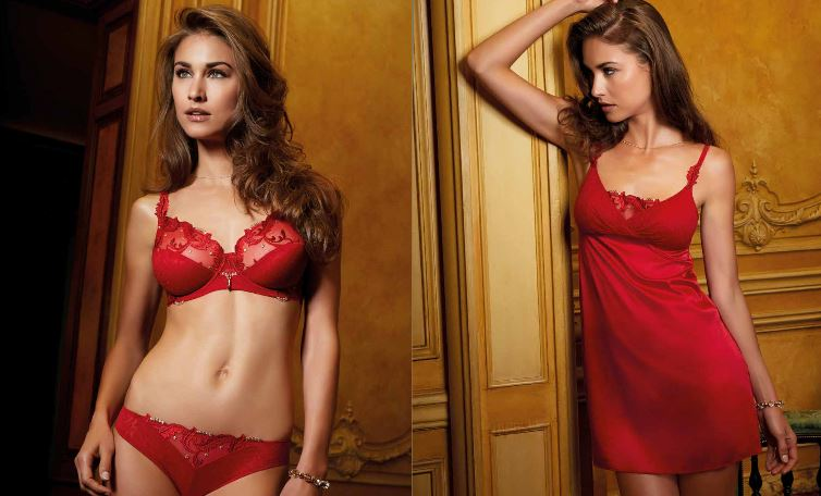 Lingerie sexy - ensemble rouge