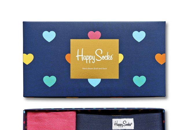 Happy Socks – idée cadeau – Saint Valentin