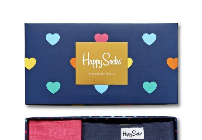 Happy Socks – idée cadeau – Saint Valentin