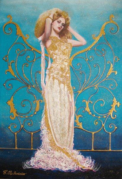 Floria Otis Rosimiro - peintre - Paris frivole 3