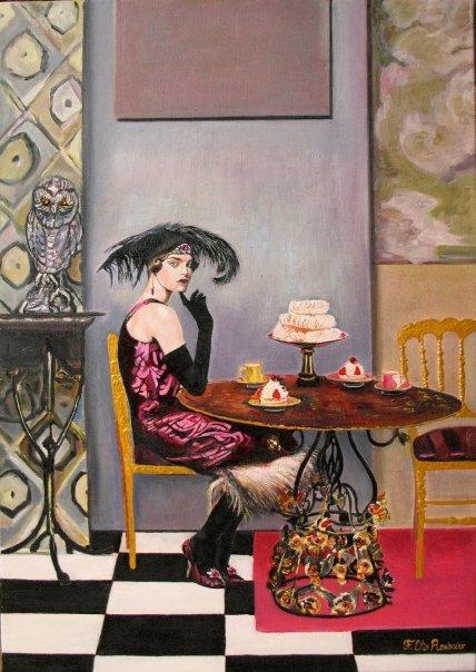 Floria Otis Rosimiro - peintre - Paris frivole 5