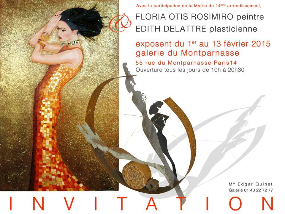 Floria Otis Rosimiro - peintre - Paris frivole