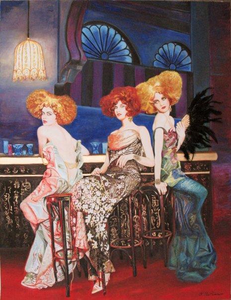 Floria Otis Rosimiro - peintre - Paris