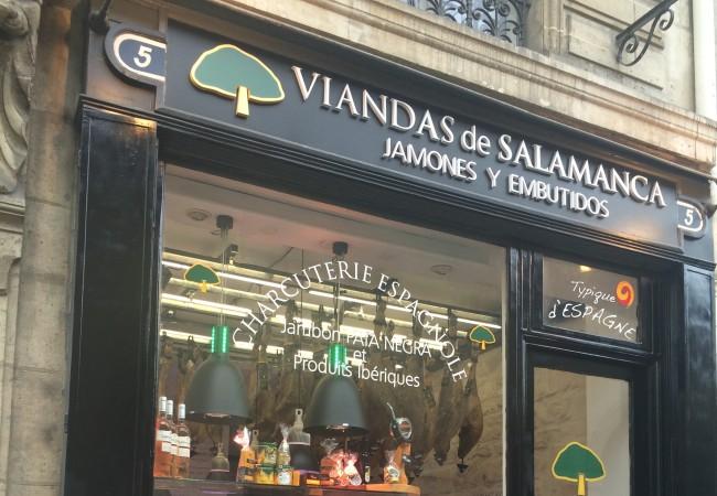 Viandas de salamanca – charcuterie espagnole