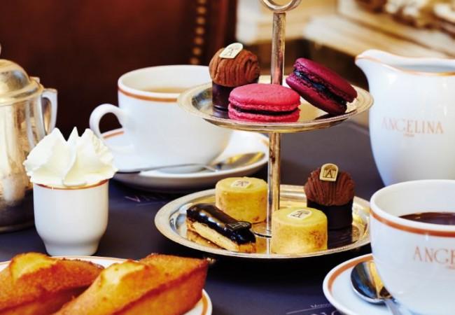 Angelina – salon de thé – Les Tudors