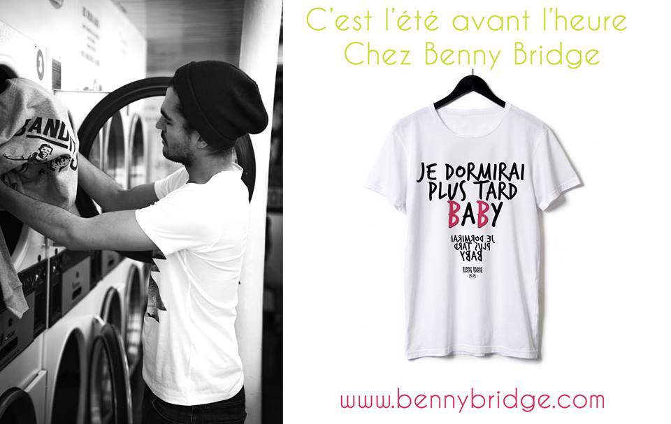 benny bridge tee shirt - mode