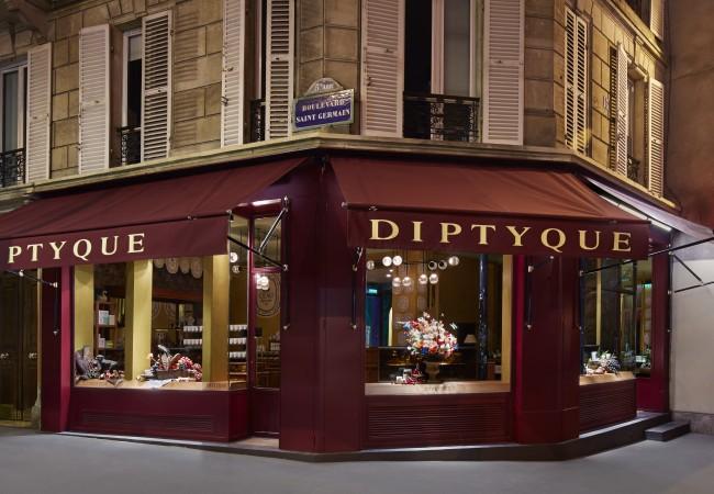Diptyque – boutique – bougies – Saint Germain des Prés