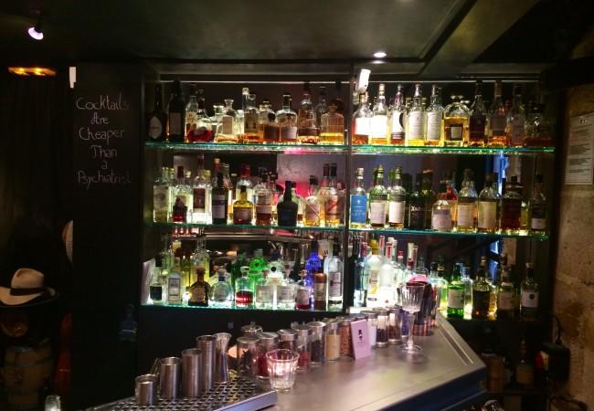 Jefrey's – bar à cocktails – gentlemen bar