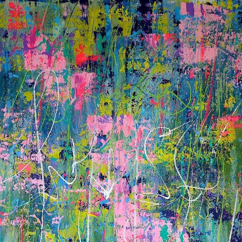 Chris Claisse - expo Maison Blanche - peinture