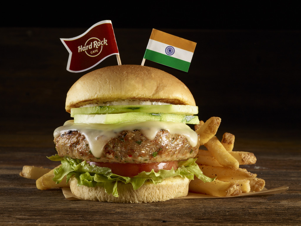 HRC Tandoori Spiced Chicken Burger-Mumbai