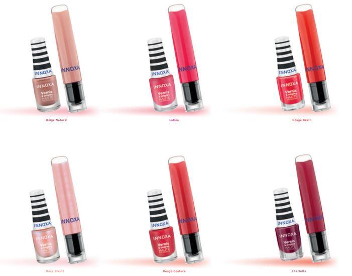 Innoxa - vernis et laque à lèvres