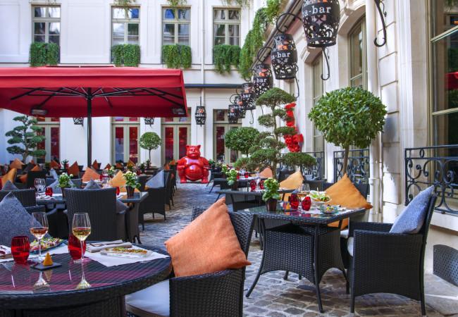 Buddha Bar Hôtel – Sunset parties – cocktails en terrasse