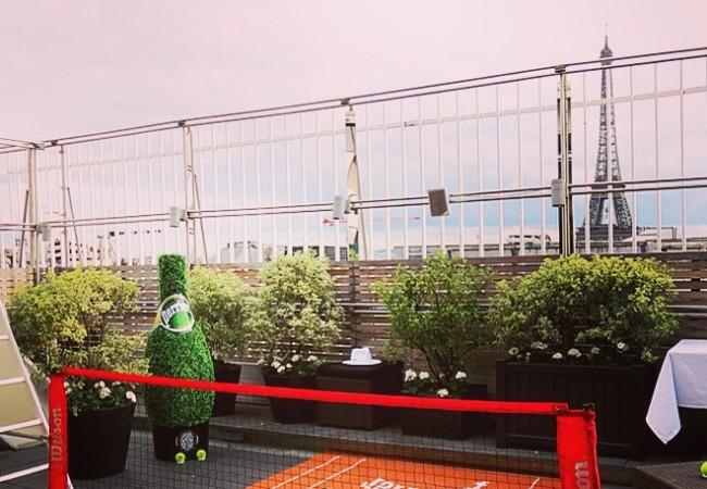 Terrasse Perrier – Maison Blanche – Roland Garros
