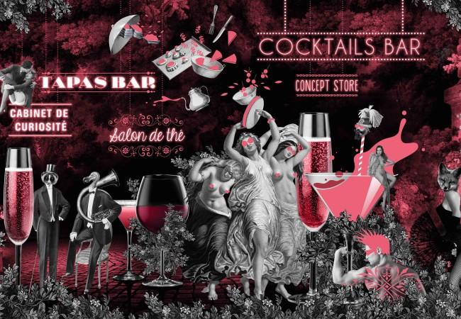 Bar à cocktails – Le 153 – adresse insolite et sensuelle