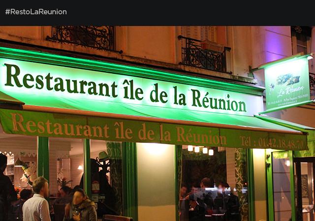 Restaurant Ile de la Réunion