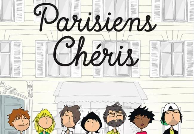 Parisiens Chéris – album – BD – Caroline Rochet et Cathy Karsenty
