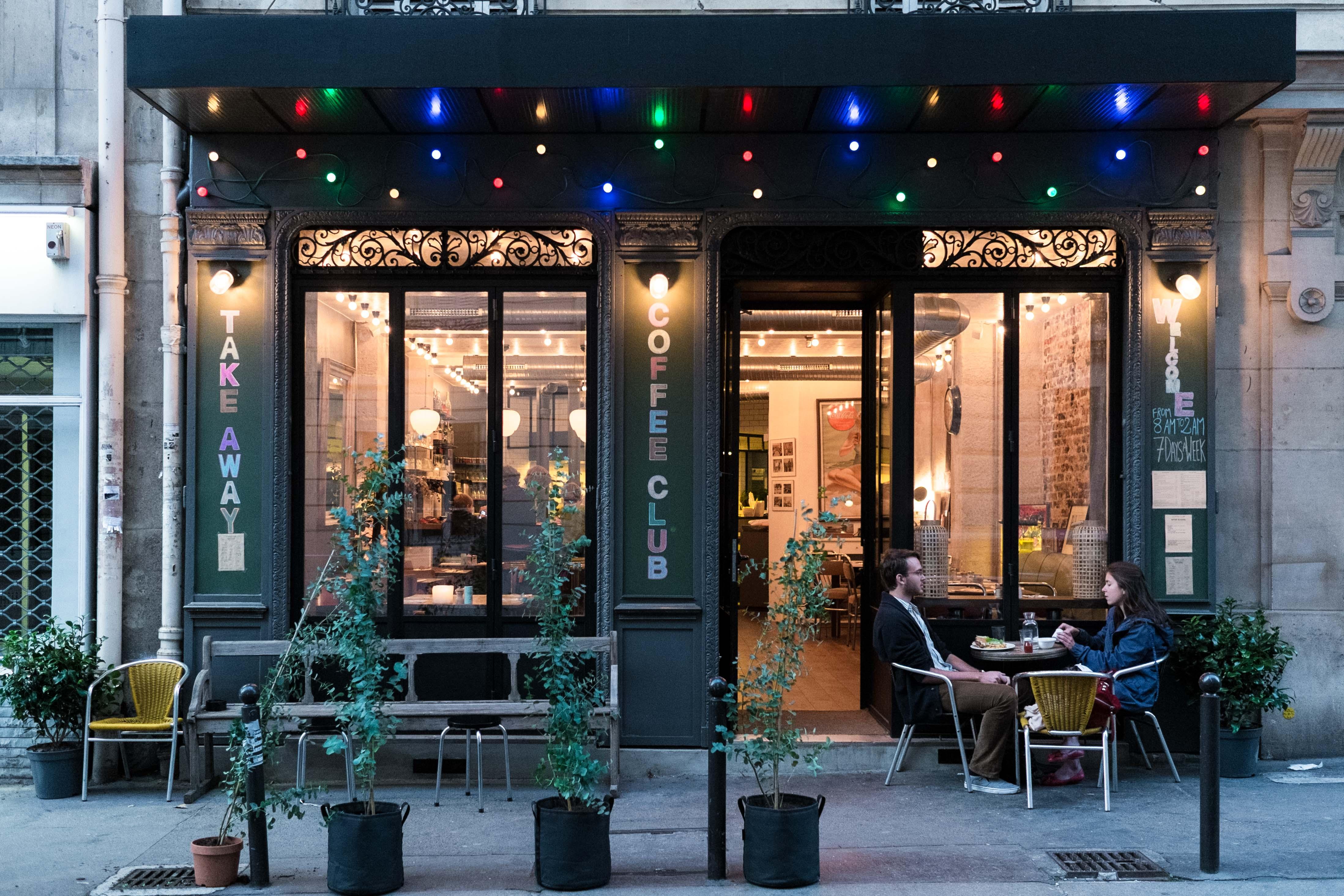 Coffee club une américaine à paris rive gauche