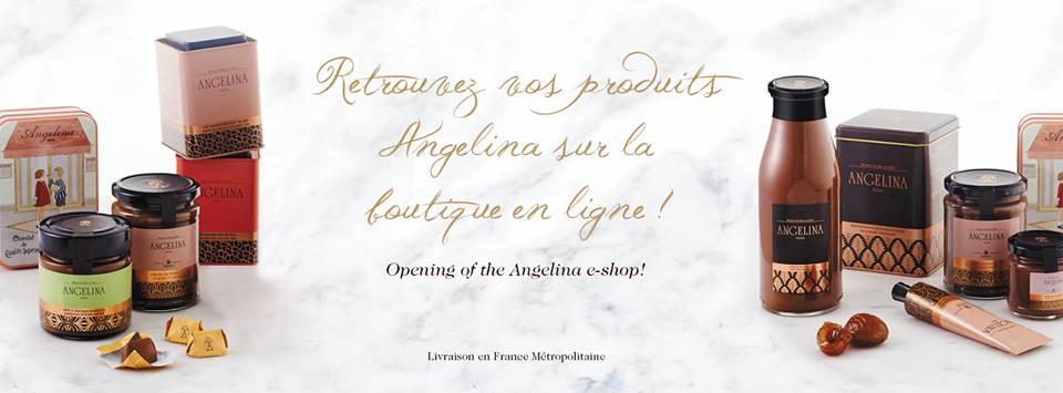 Angelina - chocolat chaud - gateaux