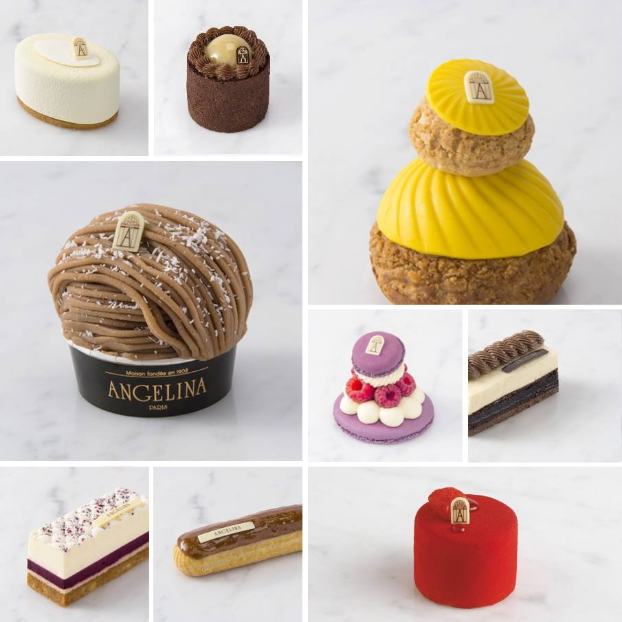 Gâteaux ANGELINA cakes