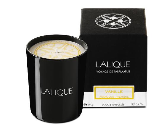 Lalique - bougie - vanille acapulco