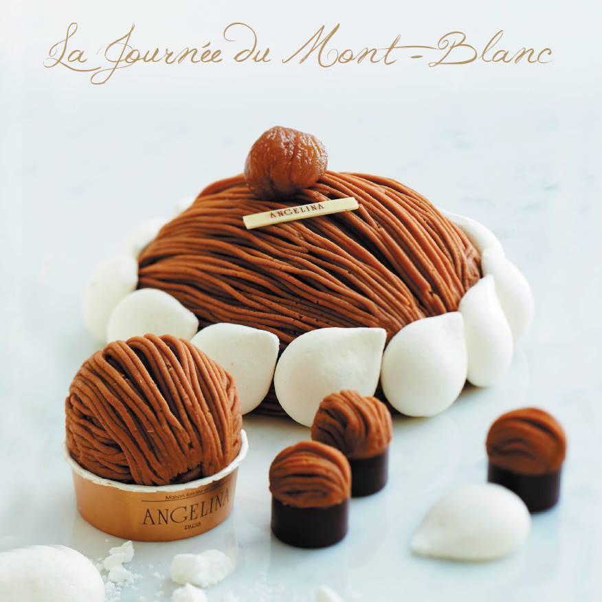 Mont Blanc - dessert ANGELINA
