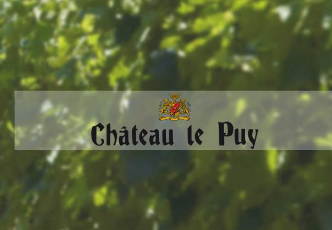 Vin fin de Bordeaux – Château le Puy – Emilien 2012