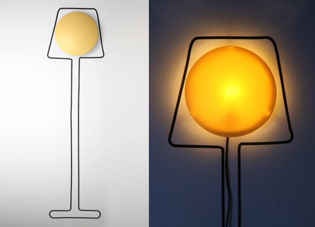 lampe adhésive HD