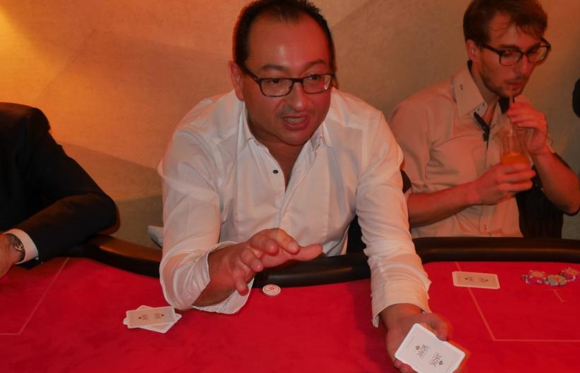 soirée paris frivole - poker